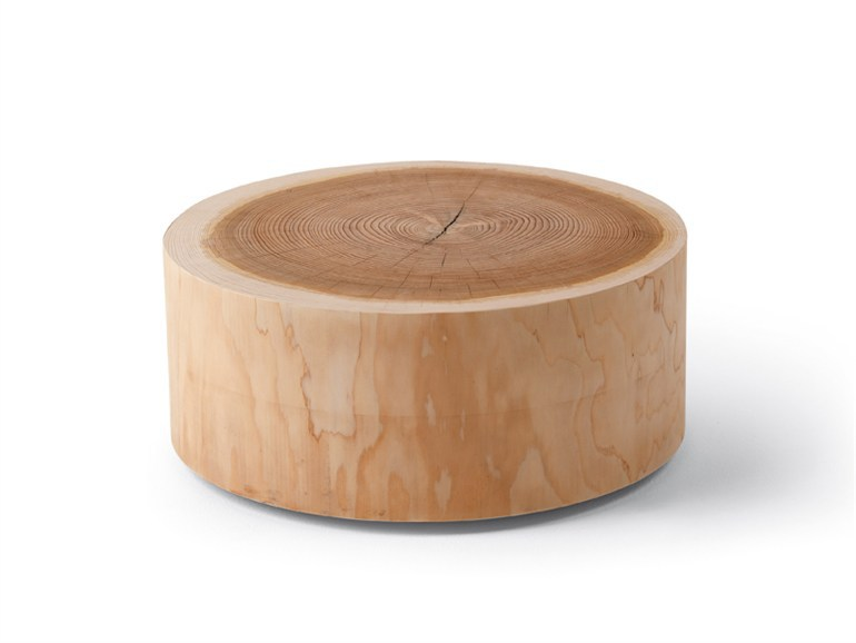 Solid Wood Round Coffee Table Idao Yi Road Creative Home Designer Wood Furniture Round Solid Wood Coffee Table Personalized Custom Coffee Table In Wood Tables (View 7 of 10)