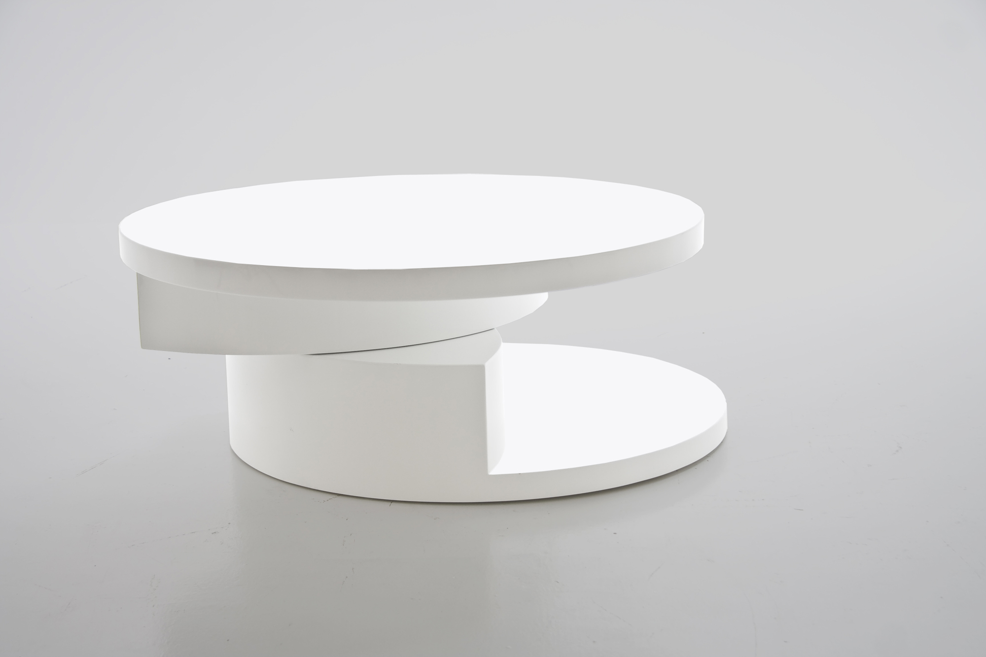 Some Round Coffee Tables Can Have An Unusual Form And Shape Unique Elegant White