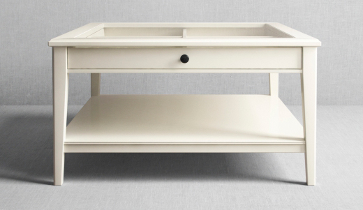 Square Coffee Table Ikea Also Glass Material Increases The Space Of All Rooms (View 3 of 9)
