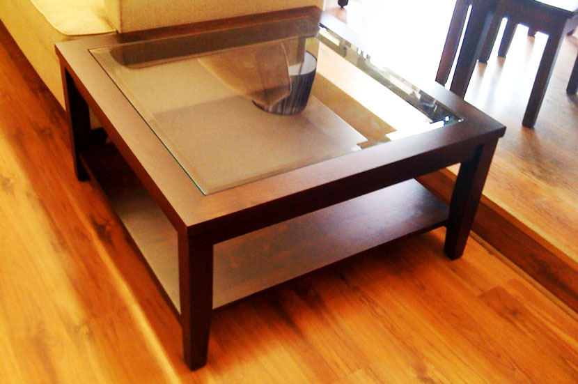 The Best Square Coffee Table with Glass Top Storage