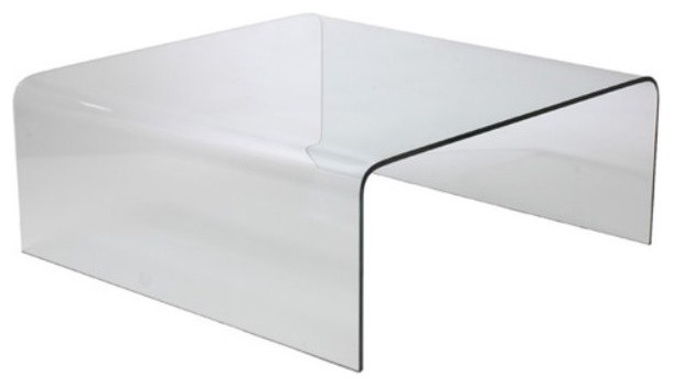 Square Glass Coffee Table Contemporary Feature Beautiful High Gloss Finish With Unique Stainless Steel Legs Support Modern Retro Design To Suit The (View 4 of 10)