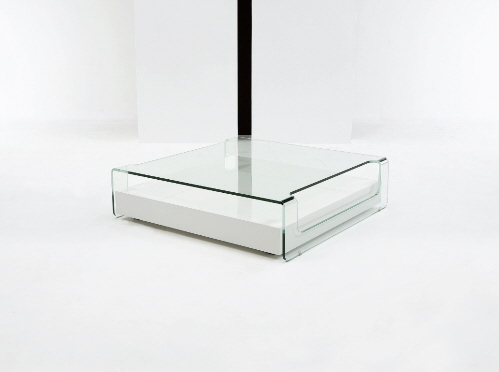 Square Glass Coffee Table Contemporary Modern Unico Fly Square Coffee Table In Choice Of 2 Finishes Simple Designs (View 7 of 10)