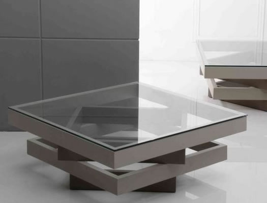 Square Glass Coffee Table Contemporary White High Gloss Contempo Square 349 This Contemporary Square Is The Ideal Piece To Suit Your Modern Day Living Room (View 10 of 10)