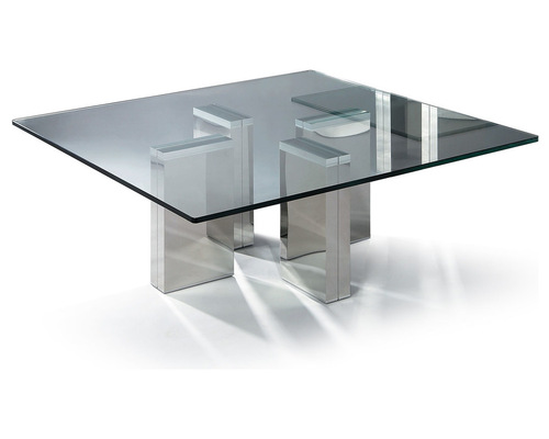 Square Glass Coffee Table Contemporary Modern Square Glass Coffee Table Urbino Coffee Table Urbino Is Remarkable For Its Clear Ultra (View 5 of 10)
