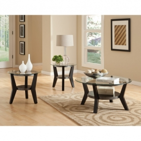standard-furniture-orbit-round-black-wood-with-glass-top-3-piece-coffee-table-set-round-glass-coffee-table-set (Image 8 of 10)