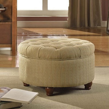 Storage Ottoman Coffee Table Round Tufted Storage Ottoman Coffee Table Roslyn Tufted Round Storage Ottoman Tufted Velvet Berry Round Storage Ottoman (Image 9 of 10)