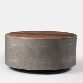 the-crosby-round-coffee-table-features-gorgeous-reclaimed-woods-and-a-unique-grey-perimeter-unique-round-coffee-tables (Image 8 of 10)