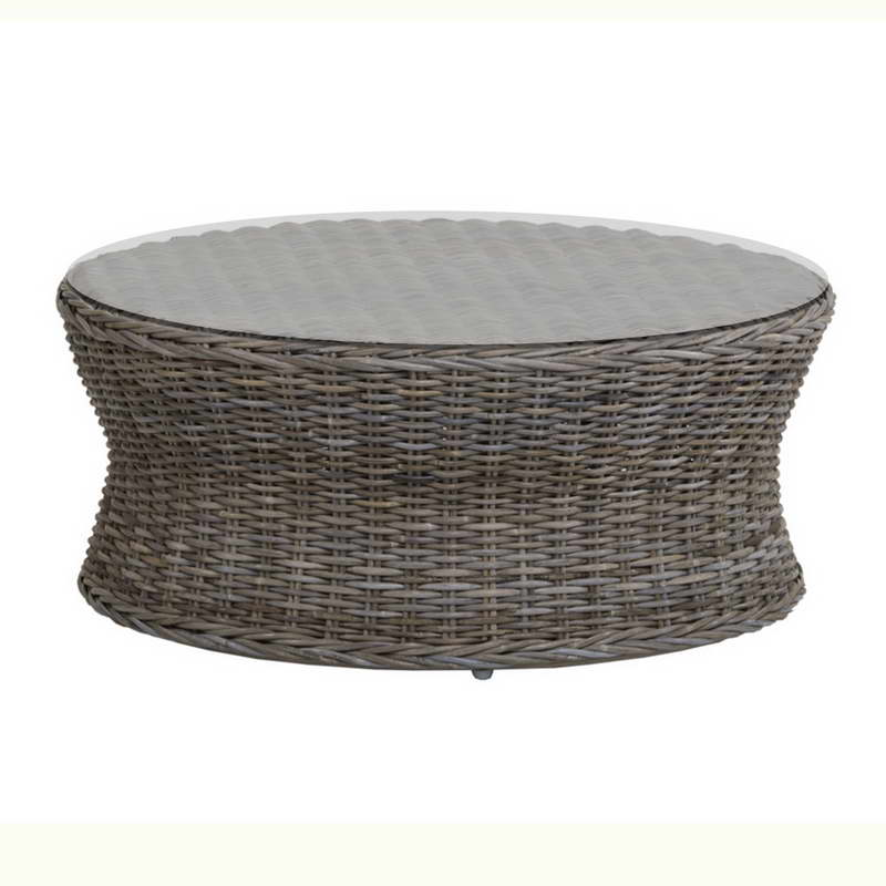 The Rattan Coffee Table Design Ideas Rattan Round Coffee Table Rattan With Top Glass Coffee Table Design Interior Furniture Ideas 2016 (Image 8 of 10)