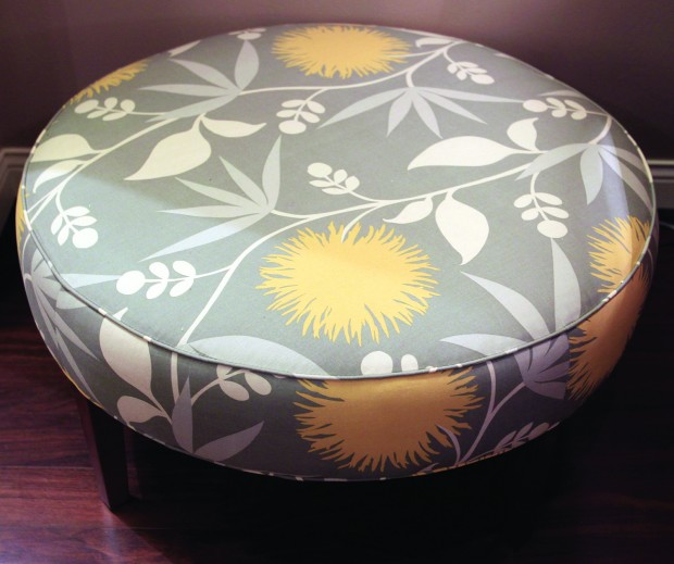 the-round-ottoman-coffee-table-option-beautiful-flower-pattern-round-fabric-coffee-table-fabric-covered-coffee-tables (Image 9 of 10)