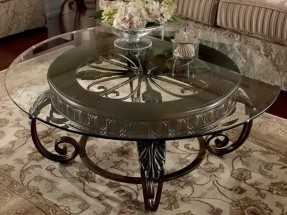 traditional-glass-coffee-table-a-modern-coffee-table-in-the-round-shape-to-better-accommodate-your-needs-and-limited-floor-options (Image 1 of 10)