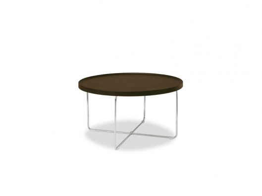 Tray Low Round Coffee Table Edi And Paolo Ciani Discount Calligaris Furniture Outlet Sale Furniture Low Round Wood Coffee Table (View 10 of 10)
