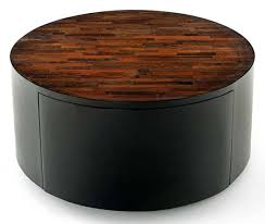 Urban Rustic Reclaimed Wood Coffee Table Round With Drawer Round Coffee Tables With Drawers Round Coffee Table Reclaimed Round Coffee Table (View 10 of 10)