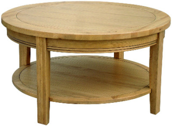 versaille-oak-coffee-table-round-edinburgh-oak-coffee-table-round-pine-coffee-table-small-dark-pine-coffee-tables (Image 10 of 10)