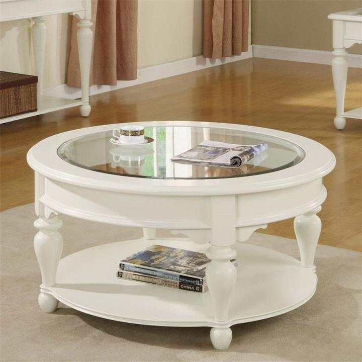 White Wood Round Coffee Table Essex Point Occasional Round Wooden Coffee Table Off White Round Coffee Table (View 8 of 10)