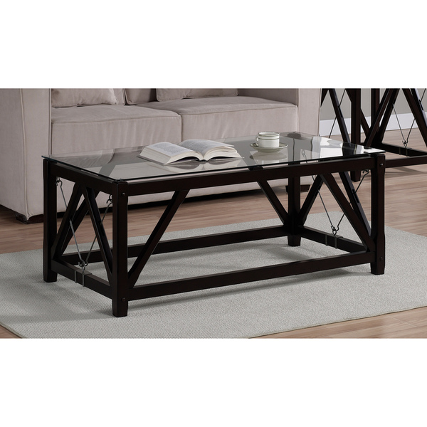 wood-and-glass-coffee-tables-white-and-black-lacquer-cable-black-wood-contemporary-design-table (Image 9 of 10)