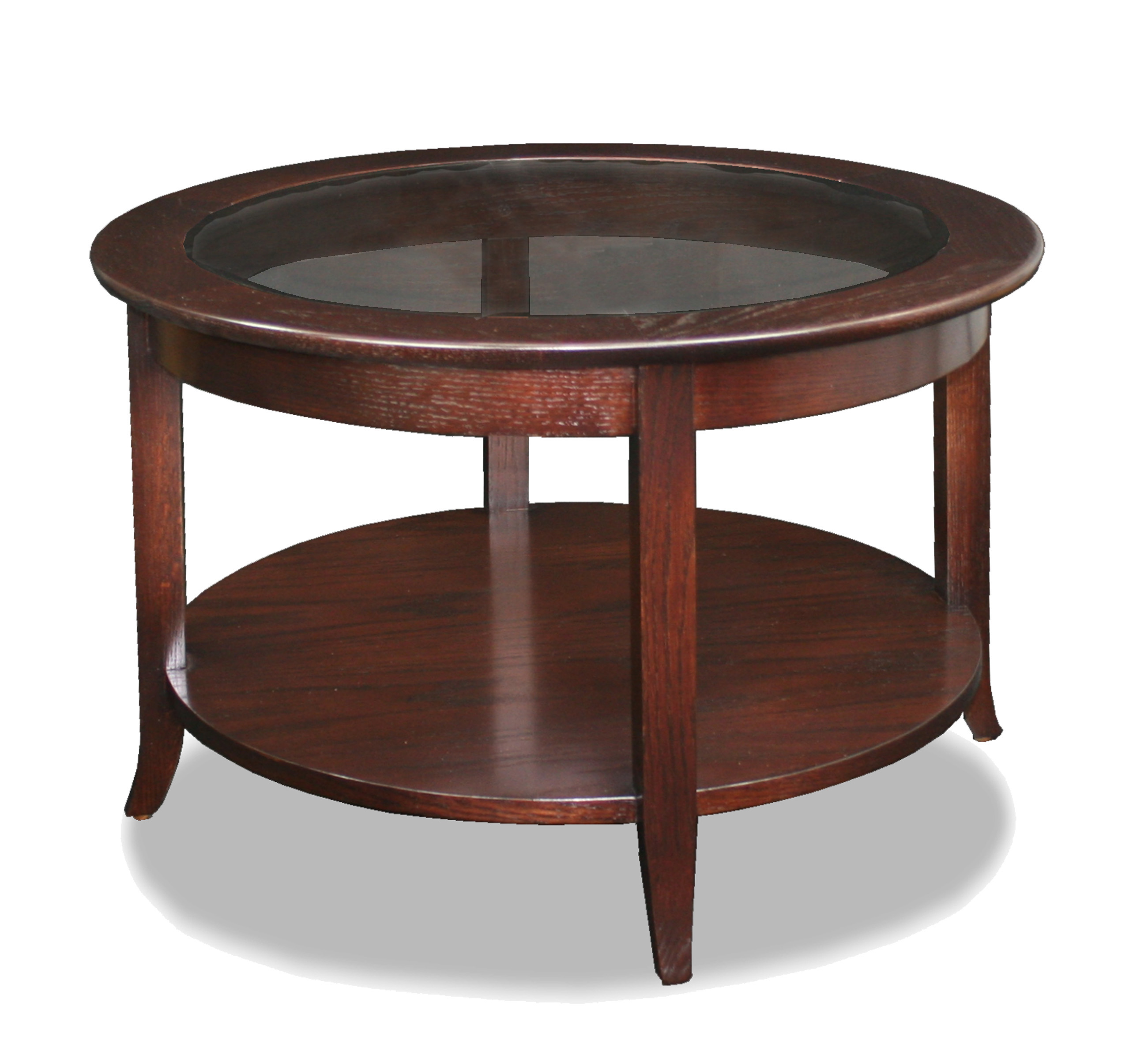Best 10 of Wood Glass Coffee Tables Round And Square