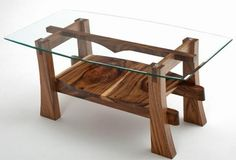 Wooden Coffee Table Designs With Glass Top Natural Wood Coffee Table Solid Wood Coffee Table Sustainable Woodland Creek Furniture (Image 7 of 10)