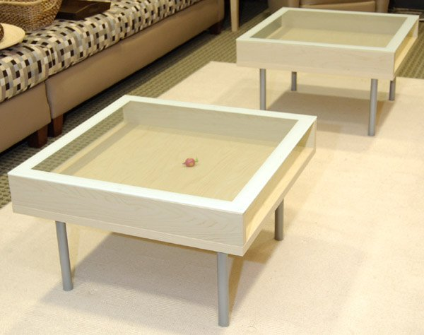 Zuo Modern Coffee Table Ikea Glass Coffee Wood Iron And Pine Shape Ensures That This Piece Will Make A Statement (Image 4 of 8)