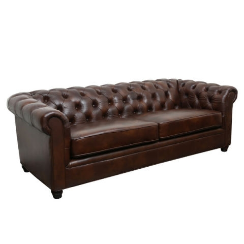 10 Best Chesterfield Sofas In 2017 Reviews Of Linen And Leather Properly Intended For Small Chesterfield Sofas (View 2 of 20)