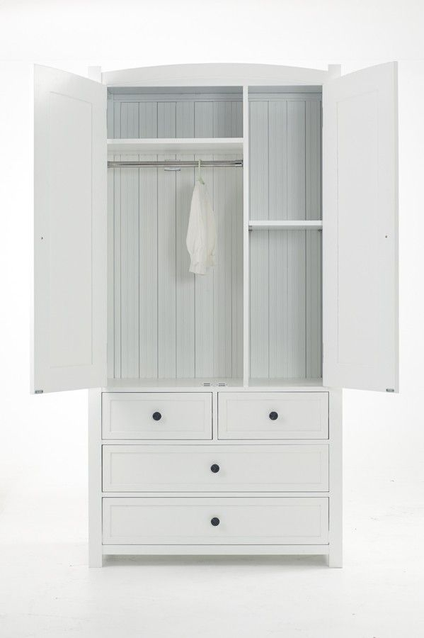 10 Best Dandelion White Childrens Furniture Images On Pinterest clearly throughout Childrens Double Rail Wardrobes (Image 4 of 20)