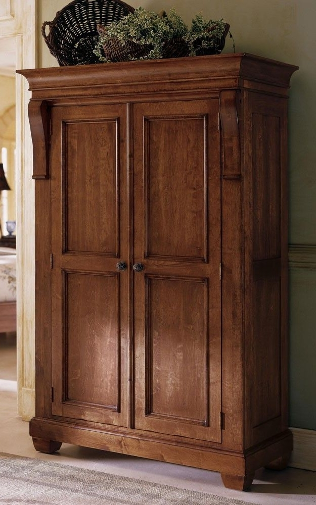 10 Best Images About Trident Senior Painting On Pinterest A very well pertaining to Solid Dark Wood Wardrobes (Image 16 of 30)