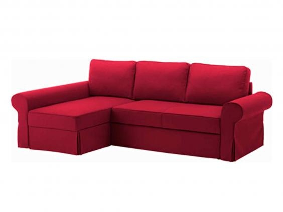 10 Best Sofa Beds The Independent certainly within Red Sofa Beds IKEA (Image 1 of 20)