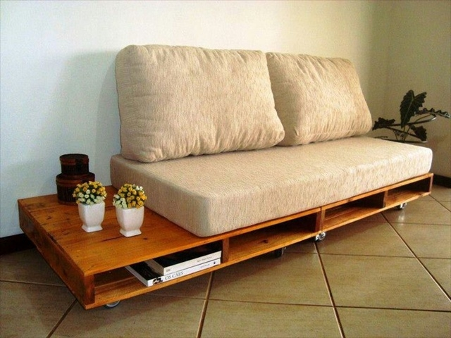 10 Diy Simple Couch How To Make A Couch Diy And Crafts nicely with regard to Diy Sofa Frame (Image 1 of 20)