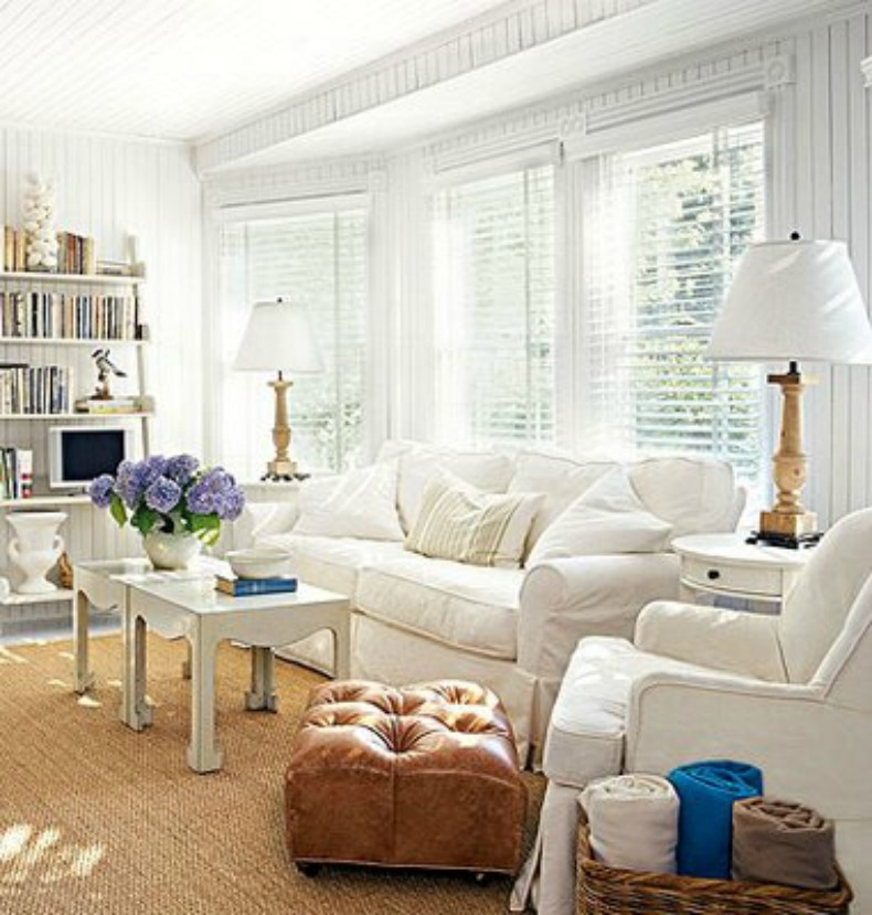 10 Ways To Create Coastal Cottage Style properly inside Cottage Style Sofas and Chairs (Image 1 of 20)