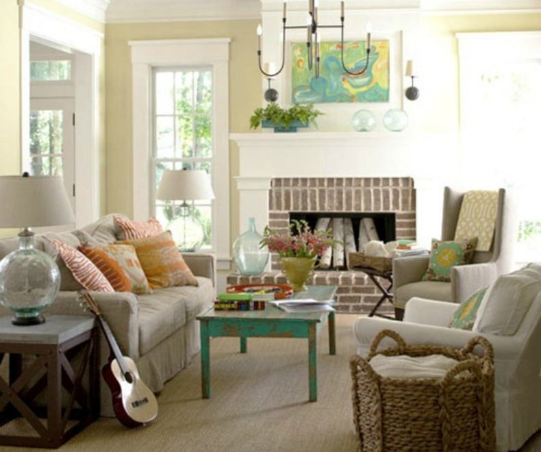 10 Ways To Create Coastal Cottage Style very well regarding Cottage Style Sofas And Chairs (Image 2 of 20)
