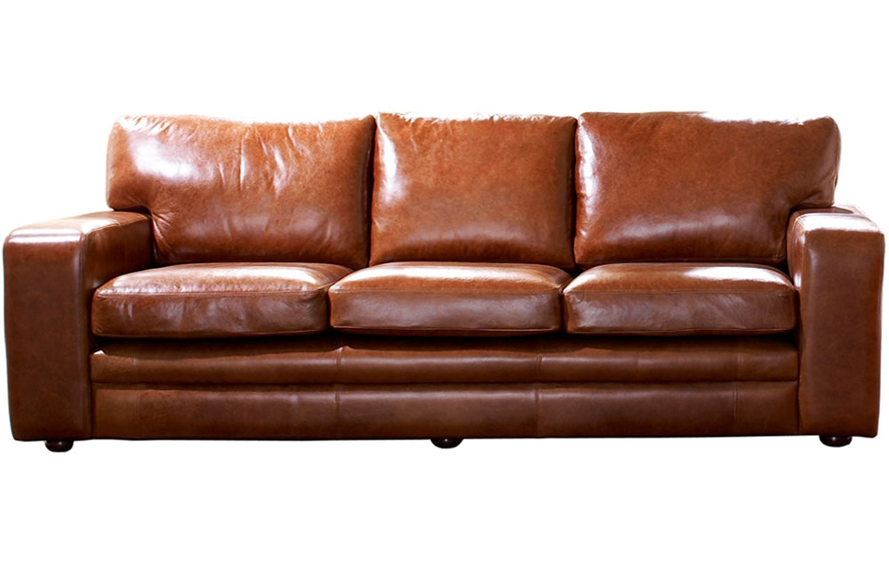 2018 Popular Full Grain Leather Sofas