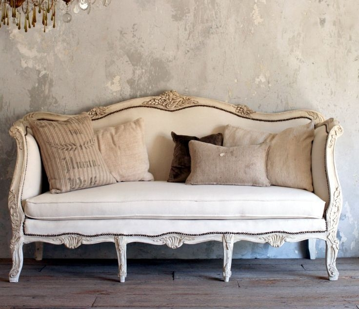 103 Best Antique French Furniture Images On Pinterest Most Certainly  Intended For Retro Sofas And Chairs