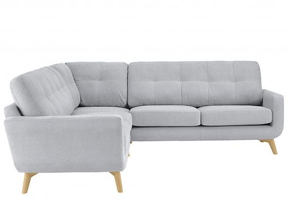 11 Best Corner Sofas The Independent clearly pertaining to Mid Range Sofas (Image 1 of 20)