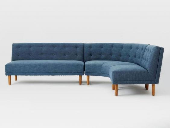 11 Best Corner Sofas The Independent properly intended for Mid Range Sofas (Image 2 of 20)