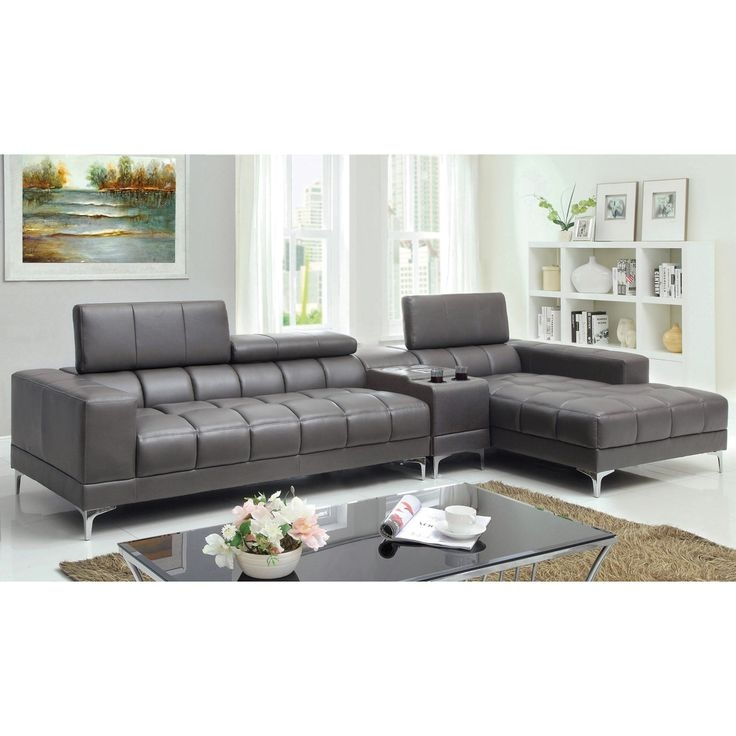 11 Best Mod Leather Sofas Images On Pinterest well with Mod Sofas (Image 1 of 20)