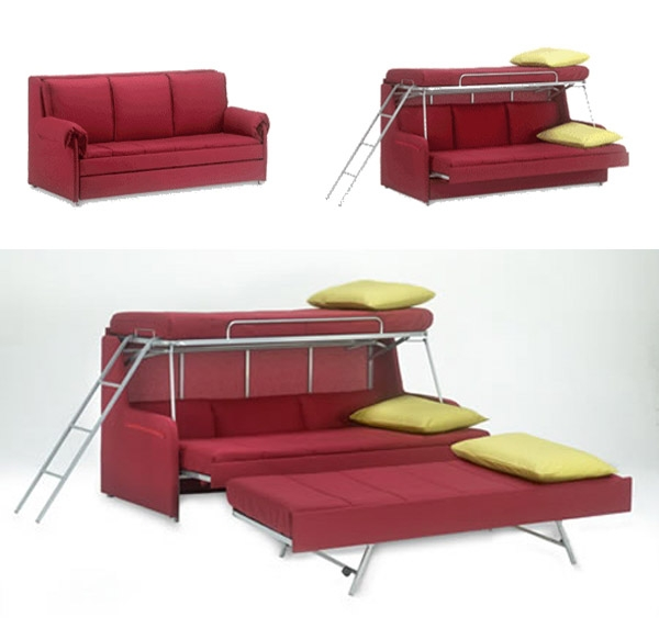11 Space Saving Fold Down Beds For Small Spaces Furniture Design nicely intended for Fold Up Sofa Chairs (Image 1 of 20)