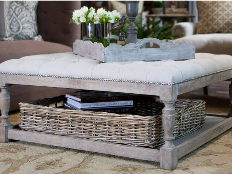 1116 Best Baskets Images On Pinterest effectively for Coffee Table With Wicker Basket Storage (Image 1 of 20)