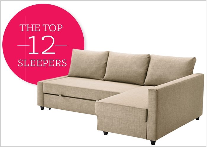 12 Affordable And Chic Sleeper Sofas For Small Living Spaces very well in Mini Sofa Sleepers (Image 1 of 20)