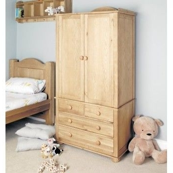 12 Best Images About Amelia Childrens Oak Furniture On Pinterest effectively within Double Rail Oak Wardrobes (Image 29 of 30)