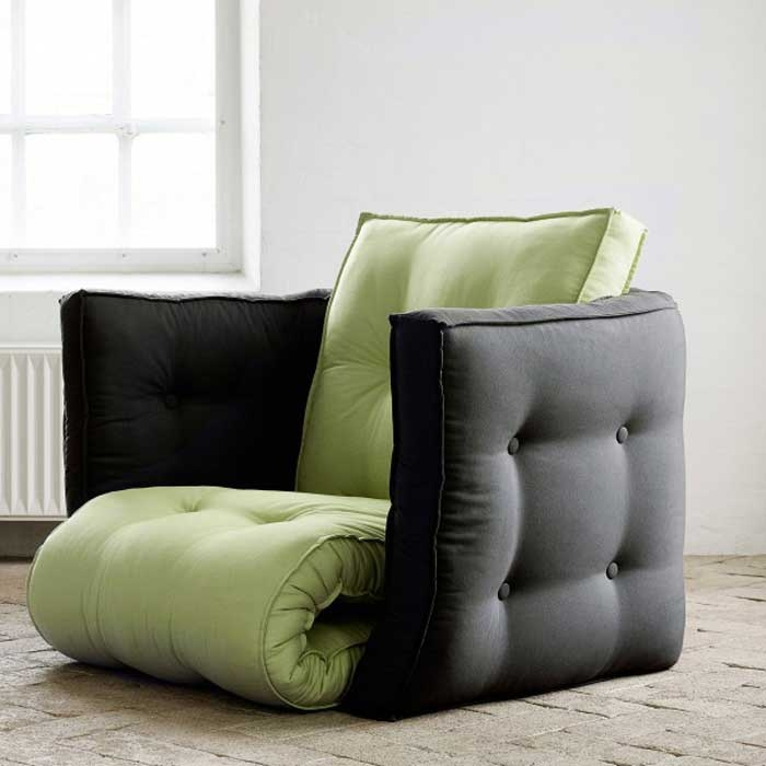 12 Best Sleeper Chairs For Small Spaces Vurni effectively with Small Armchairs Small Spaces (Image 4 of 20)