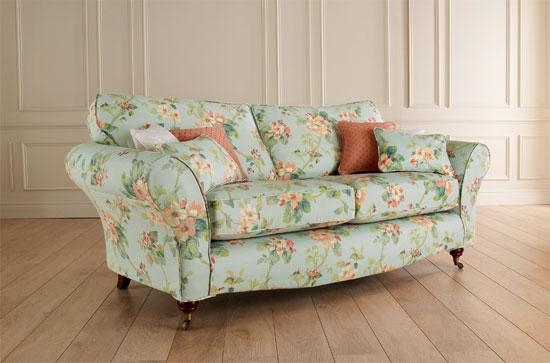 12 Floral Pattern Sofa Designs Rilane definitely regarding Floral Sofas And Chairs (Image 2 of 20)