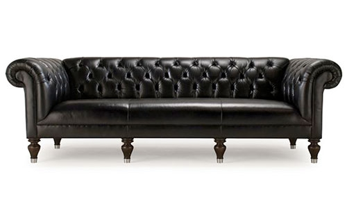 12 Gorgeous Tufted Leather Sofas clearly throughout Affordable Tufted Sofa (Image 1 of 20)