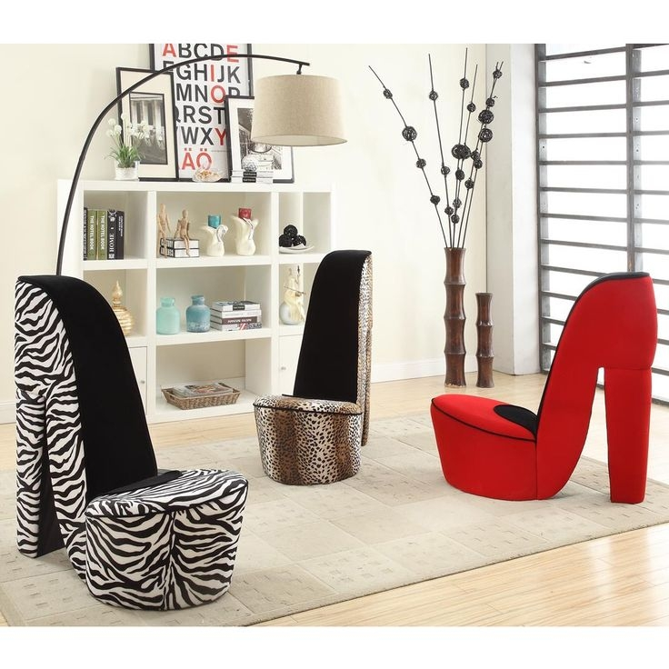 123 Best High Heel Shoe Chairs Images On Pinterest nicely with regard to Heel Chair Sofas (Image 2 of 20)