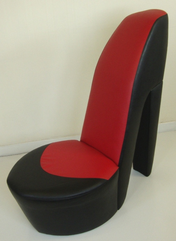 123 Best High Heel Shoe Chairs Images On Pinterest well in Heel Chair Sofas (Image 3 of 20)