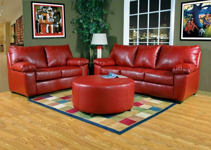 129 Best Red Couch Images On Pinterest clearly for Red Sofas and Chairs (Image 1 of 20)