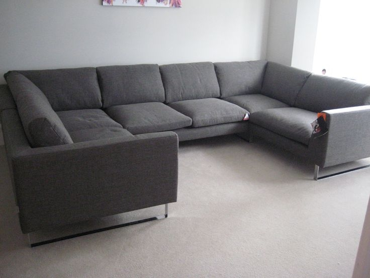 13 Best Zinnia Deep Low Lounging Stylish Sectional Seating very well within Very Large Sofas (Image 1 of 20)