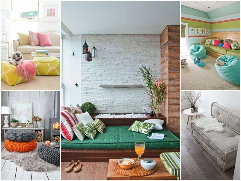13 Cool Floor Seating Ideas You Will Surely Love Nicely Pertaining To Floor Seating Ideas (View 6 of 20)