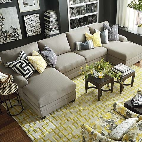 139 Best Living Room Furniture Images On Pinterest certainly with regard to Bassett Sectional Sofa (Image 2 of 20)