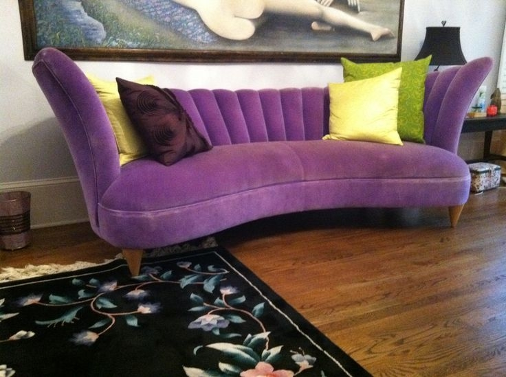 147 Best Purple Couch Heaven Images On Pinterest well with regard to Velvet Purple Sofas (Image 1 of 20)