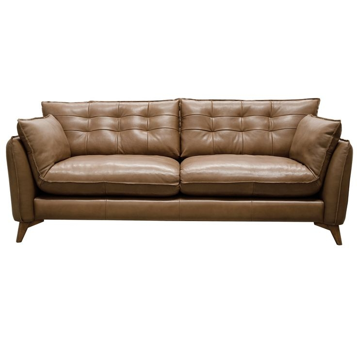 15 Best Leather Couches Images On Pinterest effectively inside Mid Range Sofas (Image 3 of 20)