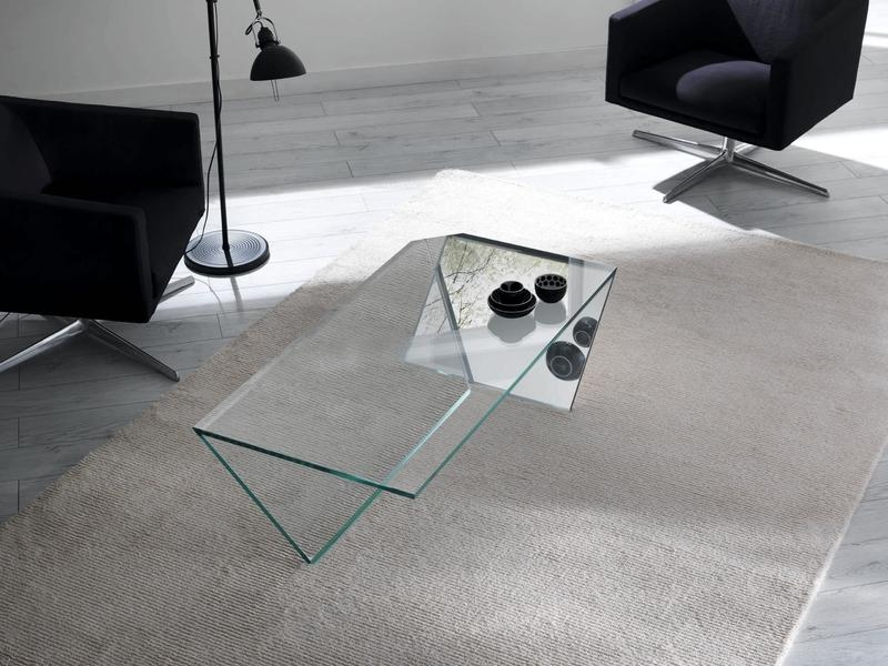 15 Contemporary Glass Coffee Table Designs Rilane well throughout Contemporary Glass Coffee Tables  (Image 3 of 20)